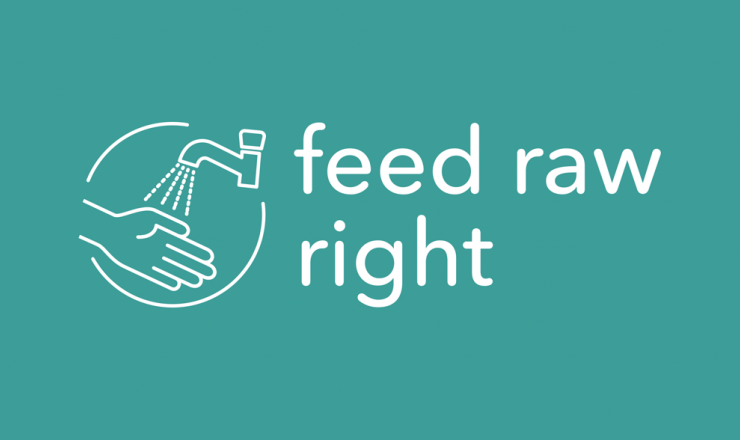Feed-Raw-Right-logo moet juiste omgang rauwvoer stimuleren